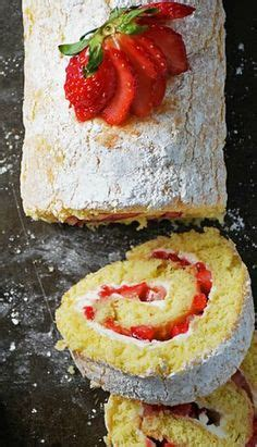 jelly roll cakes  pinterest roll cakes swiss rolls