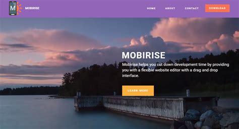 Building Websites With Mobirise Best Website Builder Software