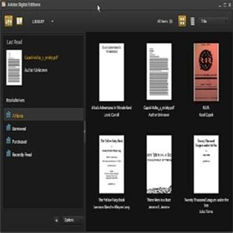 telecharger adobe digital editions  pour windows