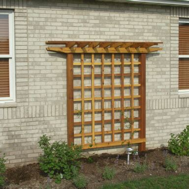 How To Build A Lattice Diy Trellis Plans Wooden Pdf How To A Brick Oven