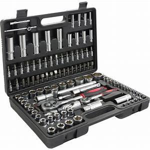 Malette Outils Facom : 108 pcs cle cliquet douille acier vanadium douilles kit coffret outils kit ~ Medecine-chirurgie-esthetiques.com Avis de Voitures