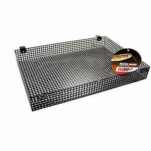 Habistat Reptile Radiator Heater Guard Black Livefood UK