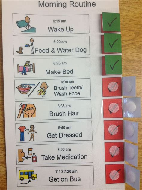visual schedule 1000 images about visual schedules on apps student centered resources and in the