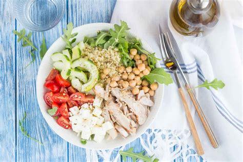 assiette cuisine assiette crétoise au poulet cuisine addict