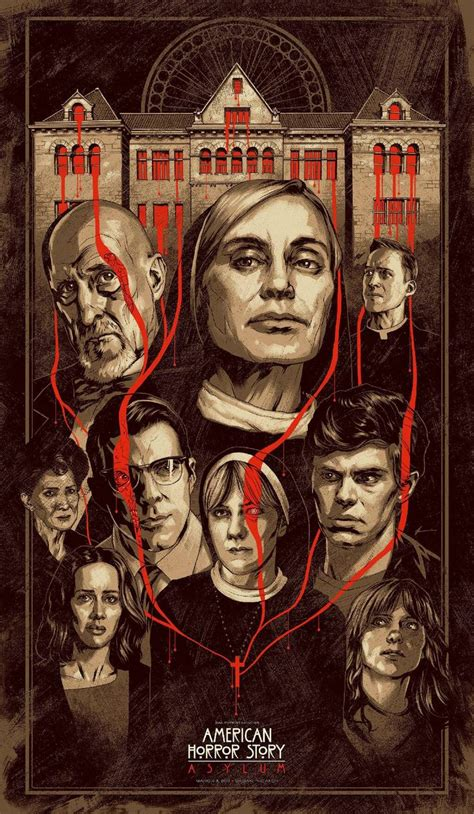 Awesome Poster For An Ahs Asylum Event In La (march 15th) Created By Phantom City Creative
