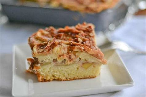 Top with remaining nut mixture and apples. Apple Sour Cream Coffee Cake - Salu Salo Recipes