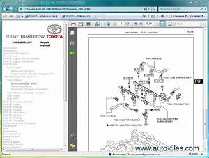 Toyota Avalon  Repair Manuals Download  Wiring Diagram