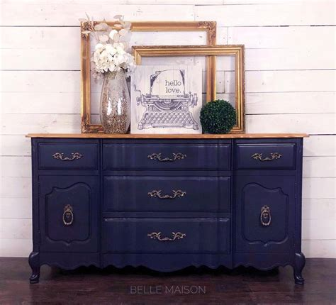 coastal blue golden pine buffet general finishes
