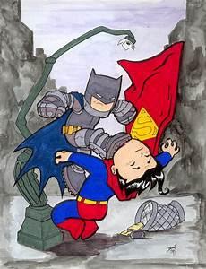Chibi-Dark Knight Fight. by hedbonstudios on DeviantArt