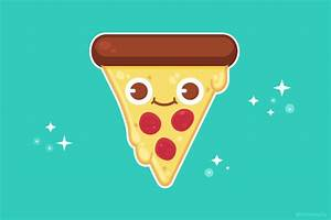 tumblaah • Pizza party with cute flavored pizza.