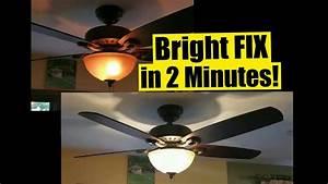 Wattage Limiter Ceiling Fan