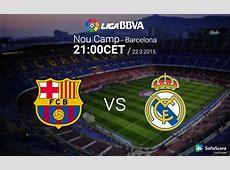 Barcelona vs Real Madrid match preview Primera Liga BBVA