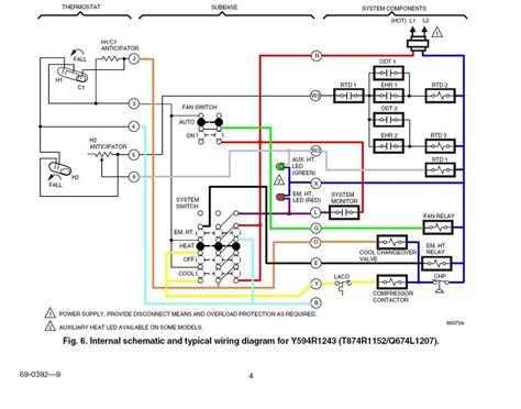 heat new heat thermostat wiring