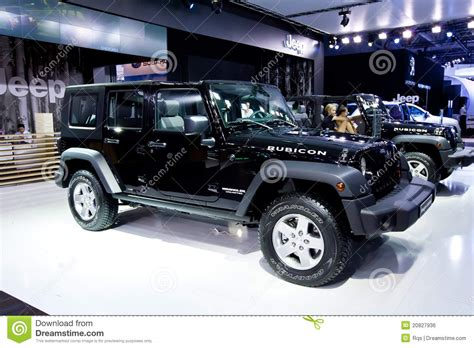 car jeep black black car jeep wrangler editorial photo image 20827936