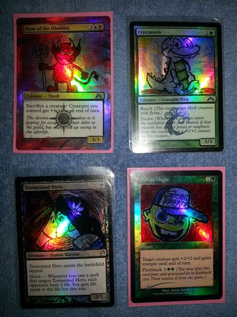See cards from the most recent sets and discover what players just like you are saying about them. Hand-Drawn Foil Magic Cards - Artwork - Creativity - Community Forums - MTG Salvation Forums ...