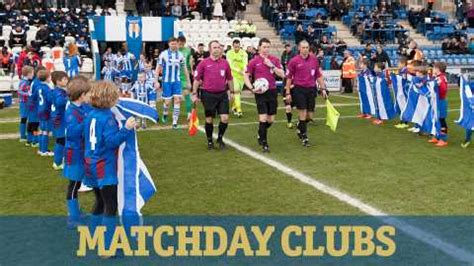 Buying Tickets - Colchester United