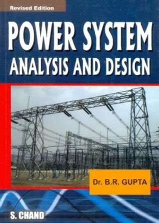 power systems analysis and design by b r gupta