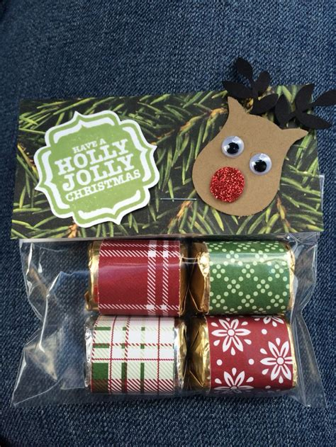 Stampin Up! Rudolph Hershey's Nuggets Treats Christmas