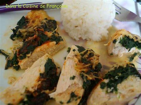 cuisine filet de poulet recettes de filet de poulet et poulet farci