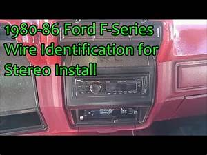 Instrument Panel Removal 1980  F150