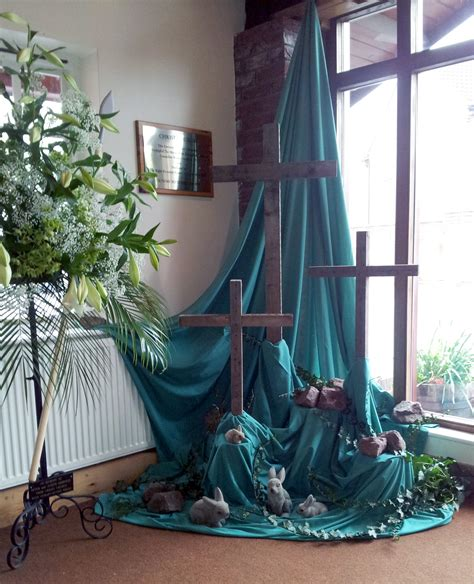 Religious Easter Decorations Ideas by Church Table Decorations For Easter Photograph 2223 X 2743