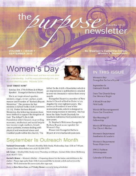 newsletter christian womens ministry womens ministry