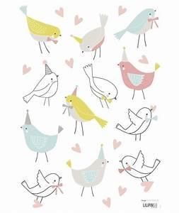 sticker chambre enfant oiseaux stickers pinterest With chambre bébé design avec noeud papillon a fleur