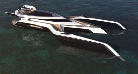 Biggest Boat Ever Designed by Trimaran Yacht Design Czyzewski Design