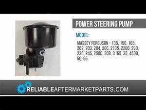 1165 544443m91 New Massey Ferguson Power Steering Pump 35