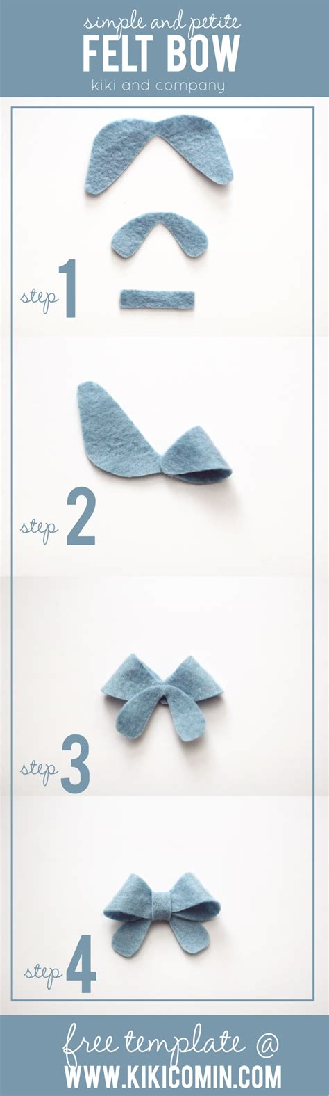 felt bow template simple and felt bow free template company