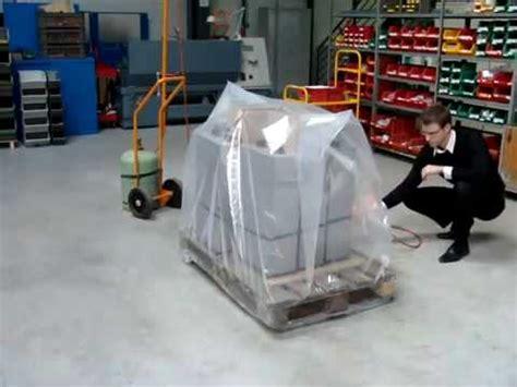 ripack  pallet wrap shrink gun youtube
