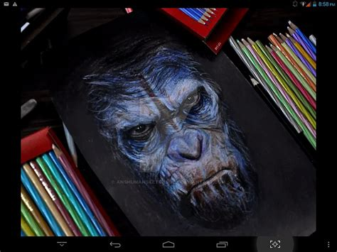 Caesar From Dawn Of The Planet Of Apes By