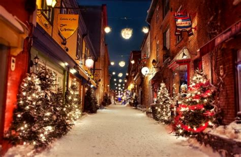 christmas city houses architecture background