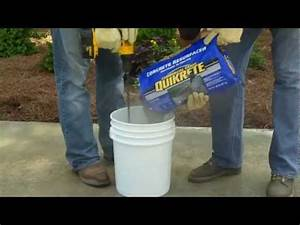 how to use quikrete concrete resurfacer the home depot With self leveling floor resurfacer