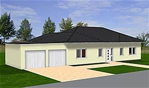 Bungalow Mit Atrium : winkelbungalow 135 16 mit dreiseitig umschlossenem atrium und garage einfamilienhaus neubau ~ Indierocktalk.com Haus und Dekorationen