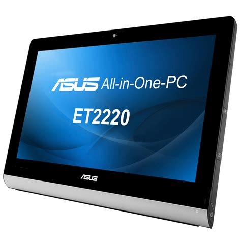 pc bureau ecran tactile asus all in one pc et2220inti b012k pc de bureau asus
