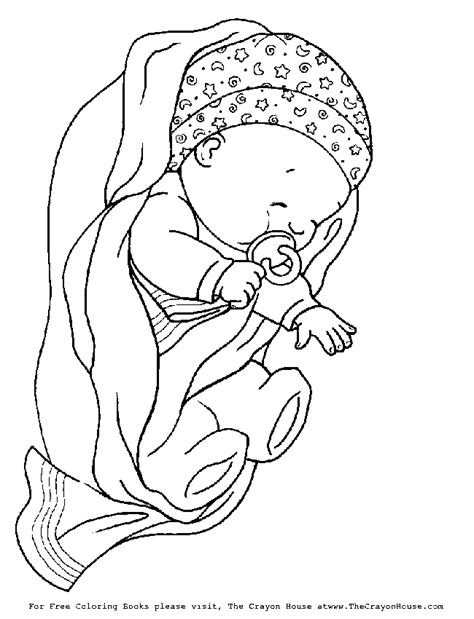 baby shower coloring pages    print