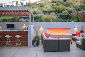 Bar Exterieur De Jardin : designing a contemporary garden with warmth garden design ~ Dailycaller-alerts.com Idées de Décoration