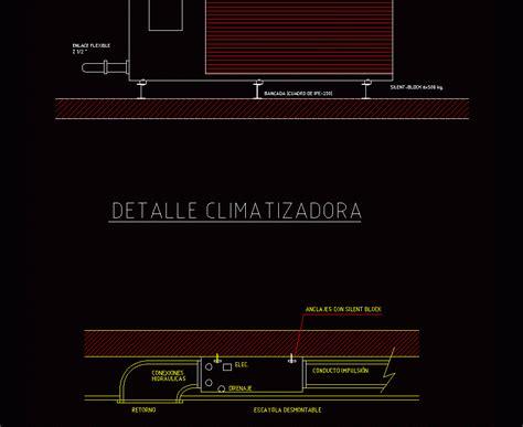 water chiller  fan coil detail dwg detail  autocad