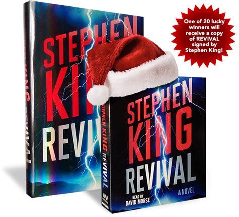 Stephenkingcom's Revival Holiday Sweepstakes