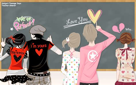 love vector anime hearts broken heart  anie