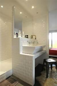 Carreau Metro Blanc : carreau de platre salle de bain id es de conception sont int ressants votre ~ Preciouscoupons.com Idées de Décoration