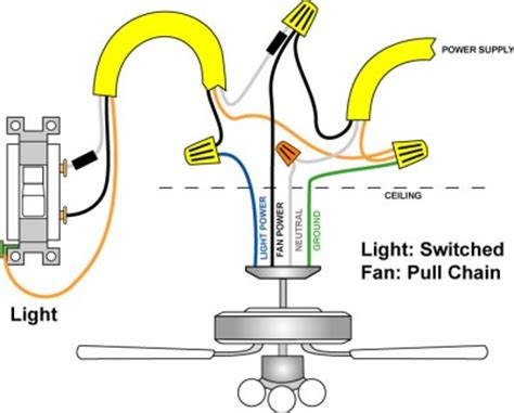 connect ceiling fan to wall switch wiring a ceiling fan and light pro tool reviews