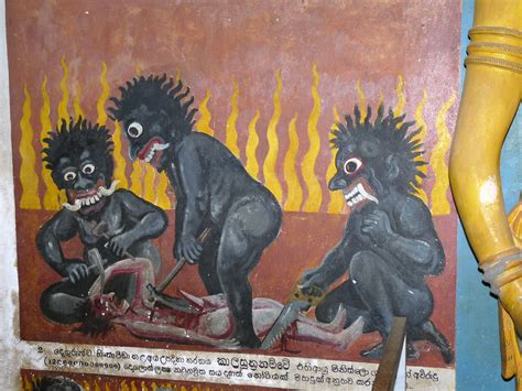 Visions of hell | Visions of hell in another cave temple ...