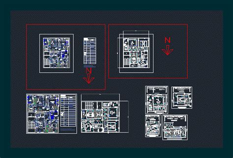 electrical layout   house dwg detail  autocad