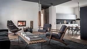 Interior Design Berlin : edgy luxury apartment equipped with statement furniture ~ Markanthonyermac.com Haus und Dekorationen