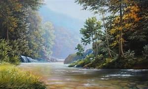 Oleg Bylgakov Artwork: The nature of the Kuban Original