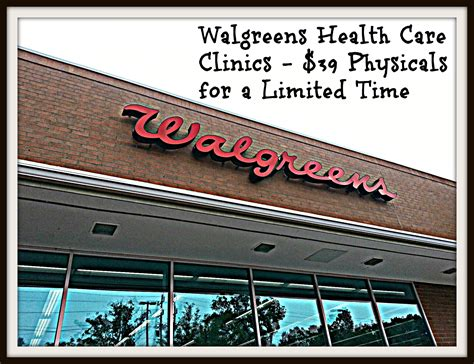 Back To School Check Up's With Walgreens Healthcare Clinic