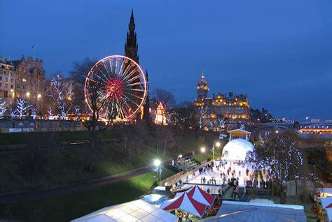 edinburghs christmas  photo  edinburgh scotland