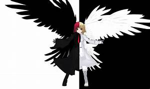the angel of death and life by KitsuneYin on DeviantArt